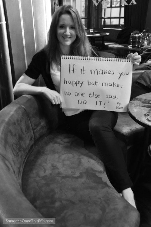 If It Makes You Happy But Makes No One Else Sad, Do It