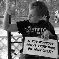 If You Workout, You'll Grow Hair On Your Chest