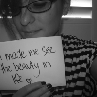 You Made Me See The Beauty In Life