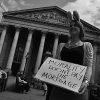 Morality Doesn't Pay The Mortgage